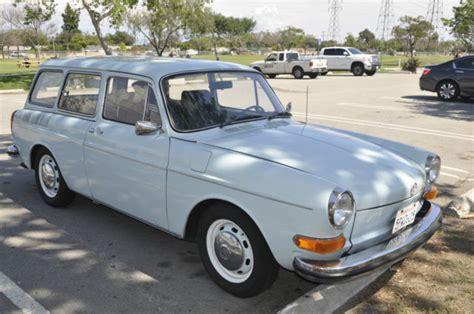 volkswagen squareback blue 1970 volkswagen squareback blue excellent