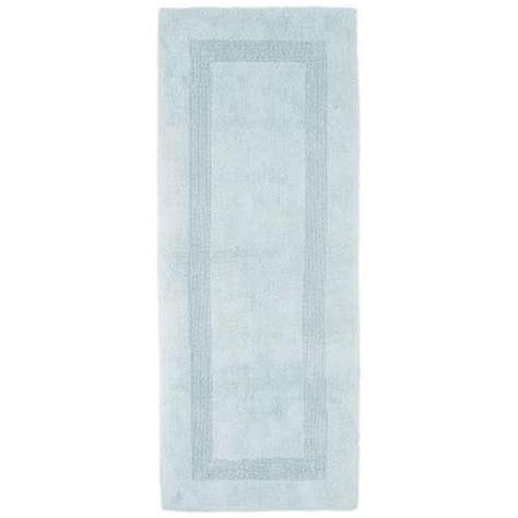 long bathtubs 7 foot lavish home seafoam 2 ft x 5 ft cotton reversible extra long bath rug runner 67 0019
