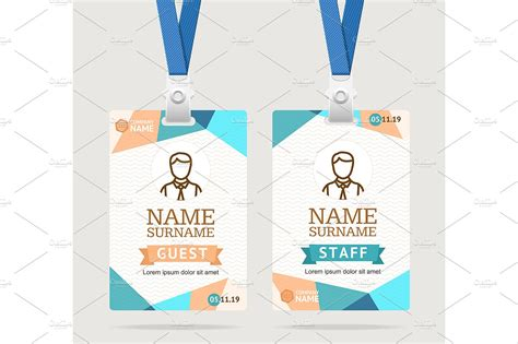 Event Id Card Template Beautiful Template Design Ideas Event Badge Template