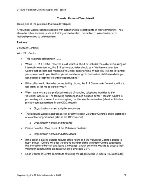 volunteer report template 211 and volunteer centre services report and toolkit