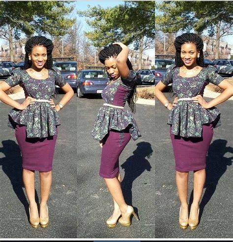 African Print Peplum Top   FashionGist.com