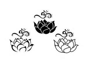 Lotus With Om Lotus Om Tattoos Favorites