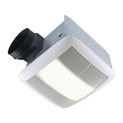 nutone bathroom fan with light nutone qt series 110 cfm ceiling exhaust bath