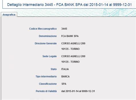 fca bank fiat chrysler marchionne si fa la banca cos 236 potr 224