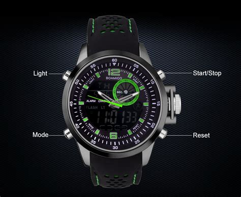 Jam Tangan Digital Not Casio Gshock Protrek Suunto boamigo jam tangan analog digital pria f 533 black green jakartanotebook