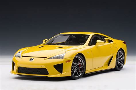 yellow lexus lfa zt s dream garage autoart lexus lfa in yellow