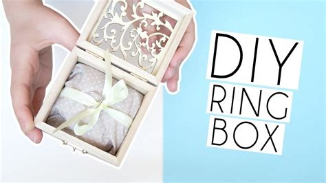 Wedding Box Diy by Diy Wedding Ring Box Joanna My Crafts And Diy Projects
