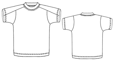 t shirt pattern measurements t shirt with yoke sewing pattern 6106 made to measure