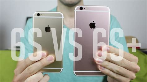 iphone 6s vs iphone 6s plus lequel choisir comparatif