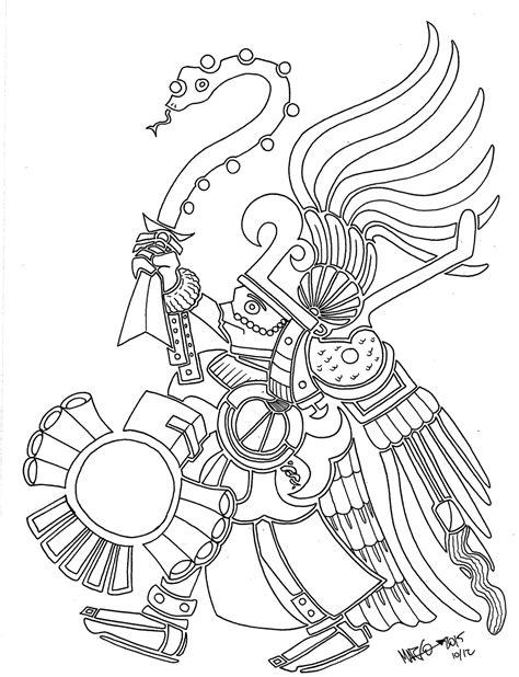 imagenes de aztecas blanco y negro sunny jhanna inktober 12