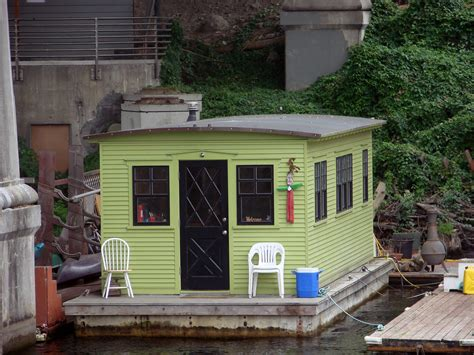 tiny small tiny houseboat a tiny houseboat near the university