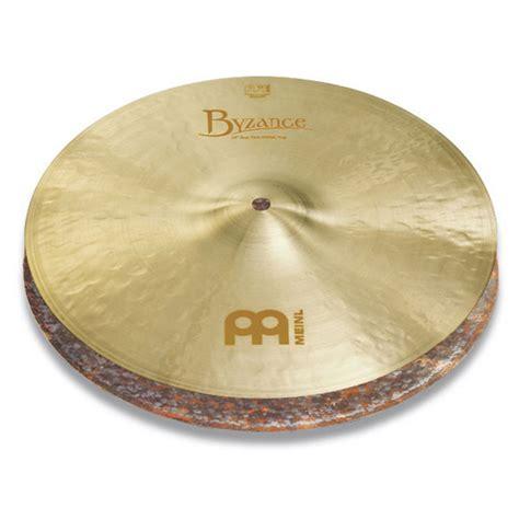 Meinl Cymbal Byzance Traditional Thin Hihat 14 meinl b14jth byzance 14 quot jazz thin hi hat at gear4music