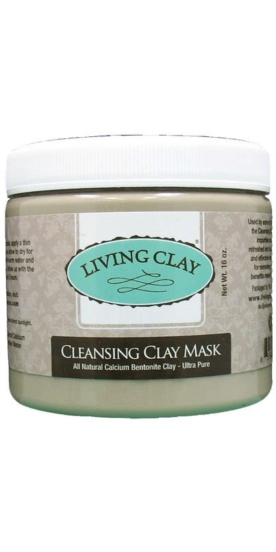 Living Clay Co Detox Clay Powder by Buy Living Clay Co Cleansing Clay Mask At Well Ca Free