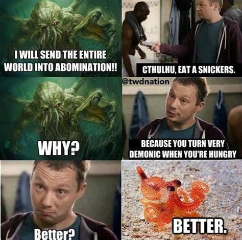 Snickers Commercial Meme - snickers kill the hydra