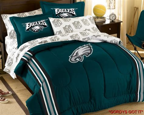 nfl comforters nfl full comforter bed set sham sheet more teams ebay
