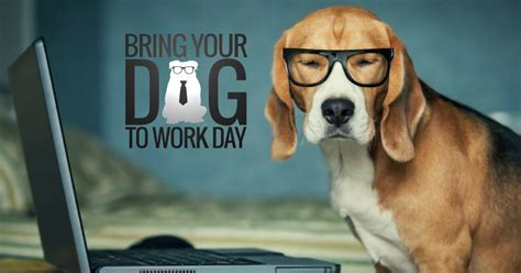 Bring A To Your Day by Bring Your To Work Day 2017 The Dogvine