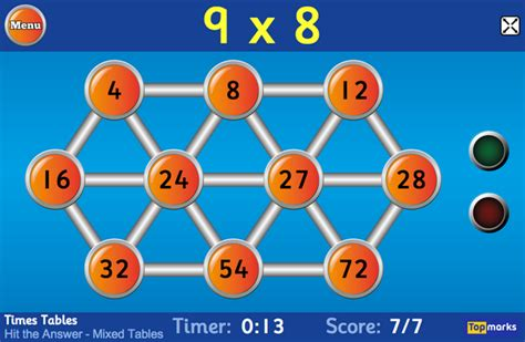 top marks new year maths topmarks on quot our new version of hit the button a