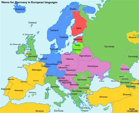in german map of europe in german language arabcooking me