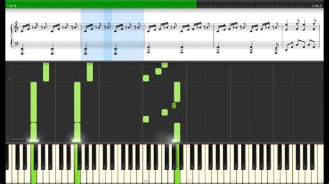 tutorial main keyboard westworld main theme synthesia tutorial with sheet