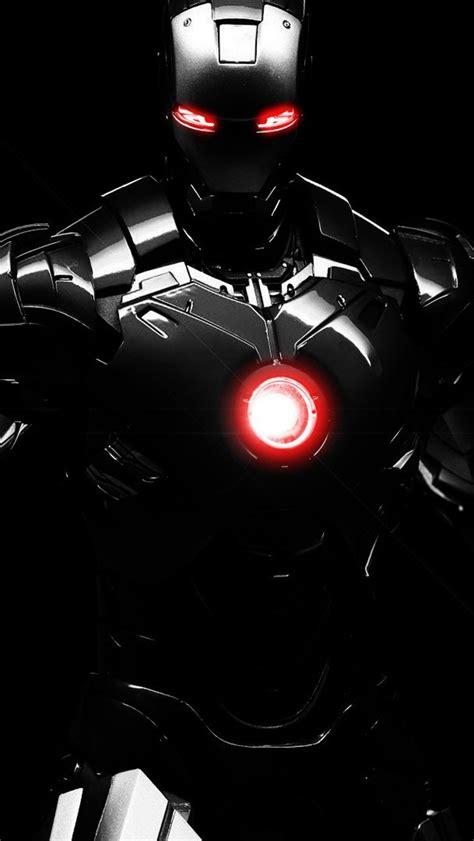 dark iron man iphone gs wallpaper