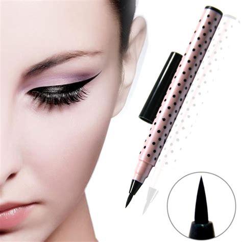 Eyeliner Yanqina 1pcs eyeliner black lasting eyeliner pen