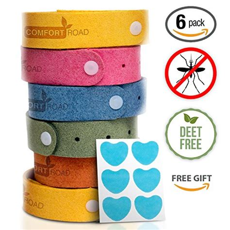 Save 35%!   Mosquito/Insect/Bug Repellent Bracelets, Individually Wrapped Wrist Bands (6 pack