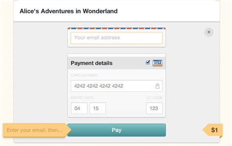 Credit Card Form Layout Ben Brewer The Ultimate Ux Design Of The Credit Card Payment Form