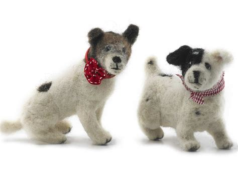 how to dogs how to make a needle felted saga