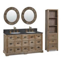 smithfield 60 quot double bowl vanity medium gray fairmont