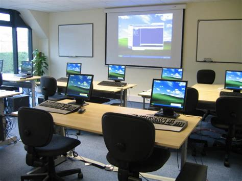 setting up a software training room onsite software training from versitas