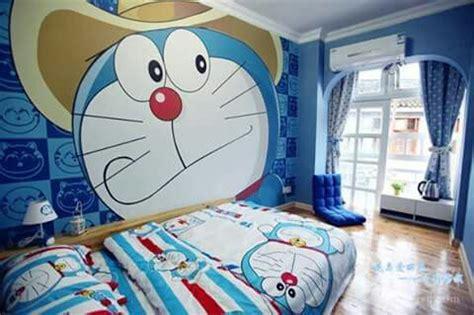 doraemon wallpaper for room doraemon bedroom so cute house and room design