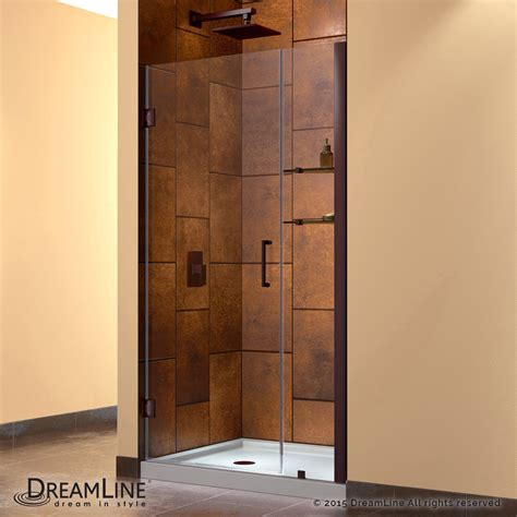 swinging shower door unidoor hinged shower door