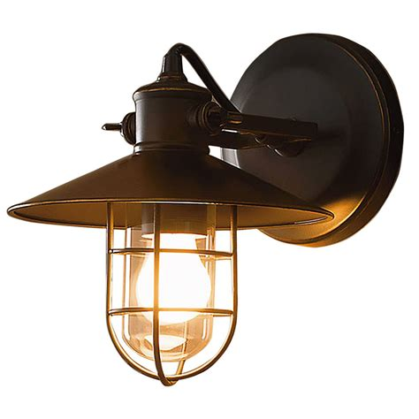 outdoor cage light fixtures vintage outdoor iron wall cage sconce retro l shade