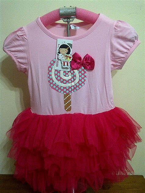 Dress Tutu Anak Mix Wedges Import dress anak perempuan cheerrashop