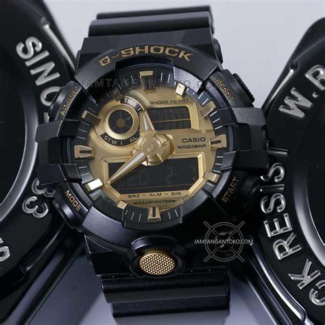 G Shock Ga 110 Dual Time Black Ori Bm Garansi 3 Bulan gambar g shock ori bm ga 710gb 1a black gold