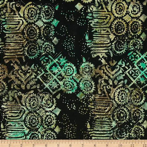 michael miller batik geo lagoon from fabricdotcom designed for michael miller fabrics this