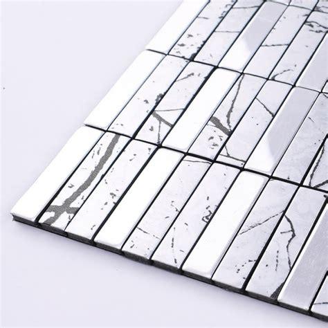 aluminum backsplash panels wholesale metallic mosaic tile aluminum panel wall