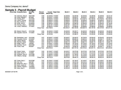 payroll budget template 10 payroll budget templates free word excel pdf
