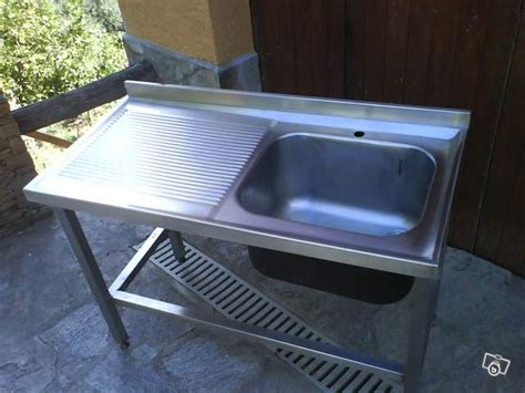 Evier Professionnel Inox Occasion by Evier Inox 1 Bac Pour Restaurant Occasion