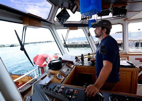 on the job john reeves tugboat captain press herald - Tug Boat Captain Jobs