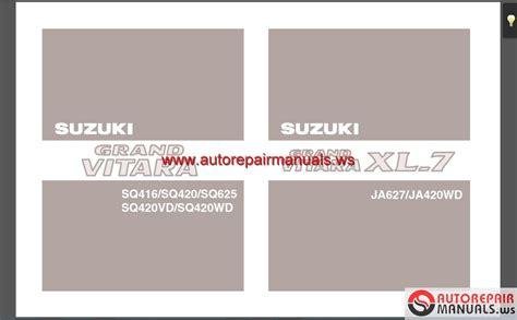 suzuki tis manual cd auto repair manual forum