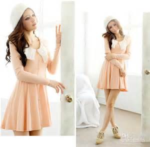 2013 new korean autumn winter dresses women s fold collar