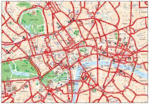 Breakfast In Bed Meme Carte De Londres Plusieurs Cartes Touristiques Plan