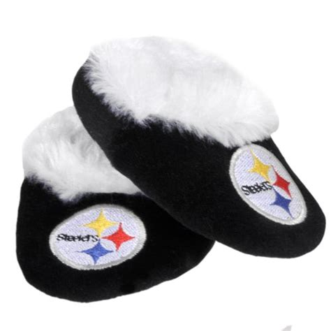 steelers house shoes steelers baby slippers pittsburgh steelers baby slippers steelers baby slippers