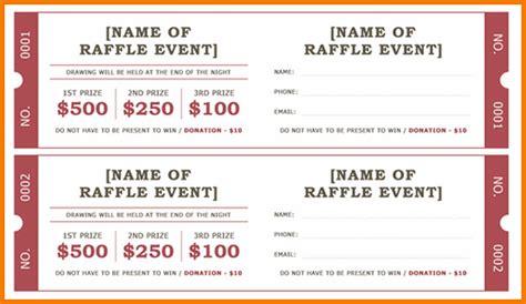Cake Raffle Ticket Template raffle ticket templates authorization letter pdf
