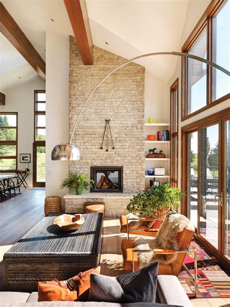 western style living rooms inspiring style modern ranch in southern alberta western living magazine