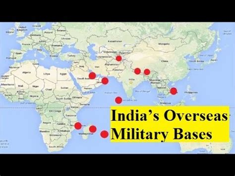 world military military base pay india s overseas military bases across the world youtube