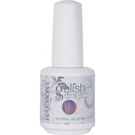 Red Carpet Led Polish by Harmony Gelish Izzy Wizzy Let S Get Busy Ella Gray