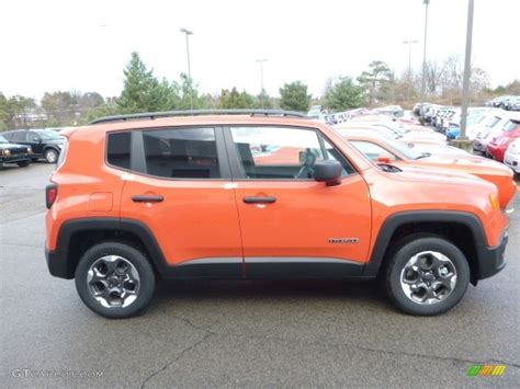 2017 jeep orange 2017 omaha orange jeep renegade sport 4x4 119199321 photo