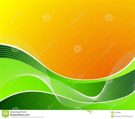 imagenes de naranjas verdes green wave on orange background with white waves royalty